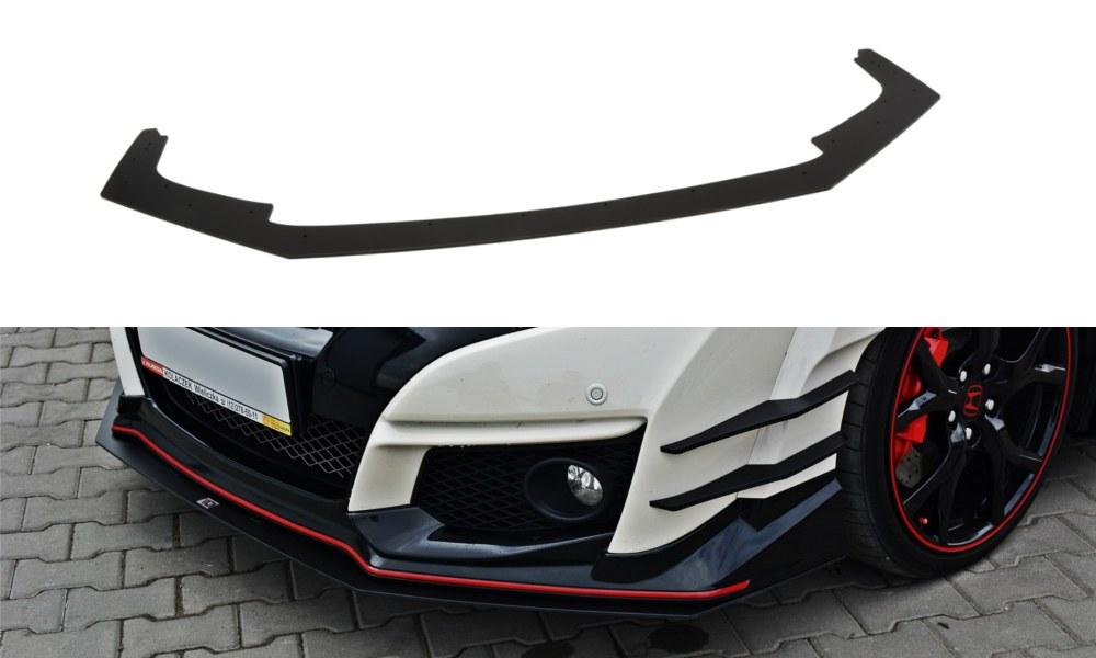 Splitter Przedni Honda Civic IX Type R V.1 Racing - GRUBYGARAGE - Sklep Tuningowy